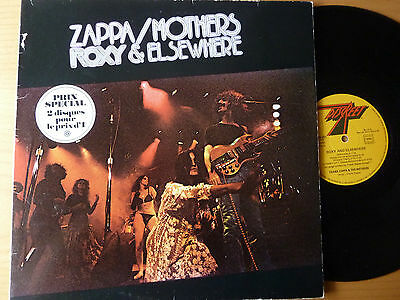 DLP FRANK ZAPPA & THE MOTHERS OF INVENTION - roxy & elsewhere - French issue