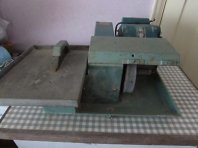 lapidary saw and grinder