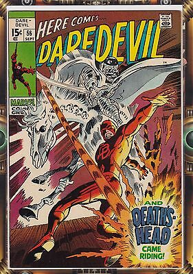 Daredevil #56 VFN Cents Copy Silver Age 1st Deaths Head