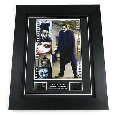 DARK KNIGHT FILM CELL ORIGINAL 35mm THE JOKER MOVIE MEMORABILIA FRAMED GIFTS
