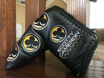 Brand New 2009 Titleist Scotty Cameron Club Cameron Putter Headcover