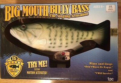 Brand New Big Mouth Billy Bass The Singing Sensation