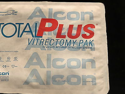 Lot Of 2 Alcon Total Plus Vitrectomy Pak Ref 8065741017 2/2018 Date