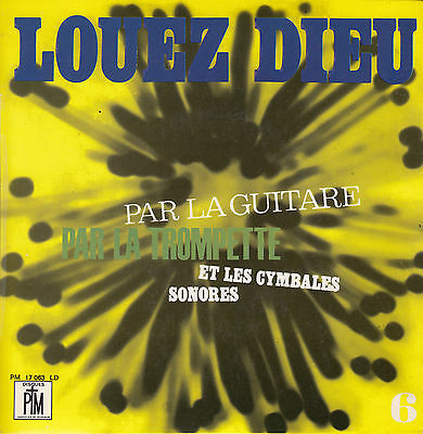 "Noel Colombier Louez Dieu 6 7"" 1968 France EP ex+++ to near mint FAST POST"