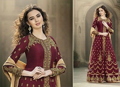 Anarkali Salwar Indian Bollywood Kameez Pakistani Designer Suit Dress Ethnic