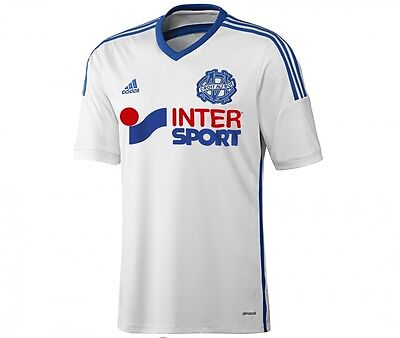 MAILLOT FOOT OM MARSEILLE  Football BLANC TAILLE L NEUF NEW