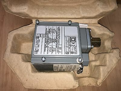 Square D 9012GAW5 600 Volt Pressure Switch - Type G - New