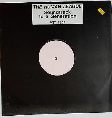 "The Human League ‎– Soundtrack To A Generation 12"" Vinyl Promo"