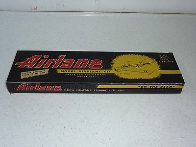 """Airlane F-86 Sabre 16"""" span classic balsa flying model,Jetex, collector's kit #3"""
