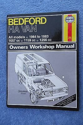 Bedford Ha Van Haynes Workshop Manual Free Uk Postage