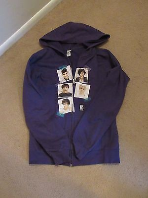 Women's Size Medium One Direction Zip Up Hoodie And T-Shirts