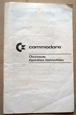 COMMODORE CHESSMATE Operating Instructions