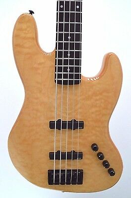 Spector Coda5 Pro 5-String Electric Bass Guitar (Natural Stain)