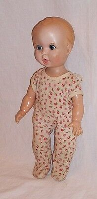 Gerber Baby doll 1972 fully jointed in sleeper