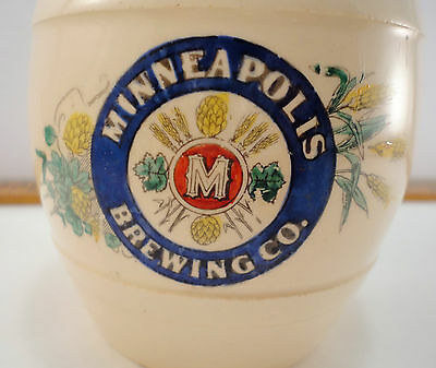 Minneapolis Brewing Co. Pre-Prohibition Beer Mug By Thuemler 1890s Stein Barware