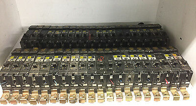 LOT OF 40 Square D I -Line 20 Amp Circuit Breakers FY14020A FY14020B FY14020C