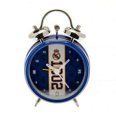 Real Madrid F.C. Official Crested Bell Alarm Clock (Since 1902) La Liga