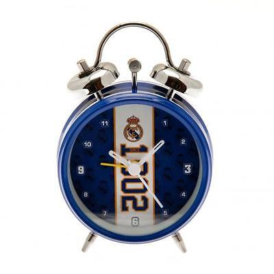 Real Madrid F.c. Official Crested Alarm Clock