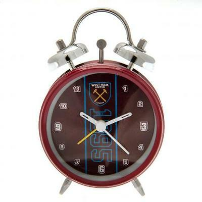 West Ham United F.C. Official Crested Bell Alarm Clock