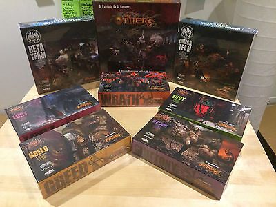 THE OTHERS: 7 SINS Kickstarter Edition (Faith Pledge) Board Game NEW SEALED