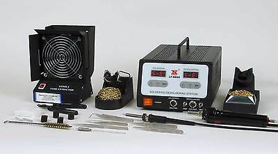 Xytronic LF-8800 Temperature Controlled Soldering and Desoldering Station