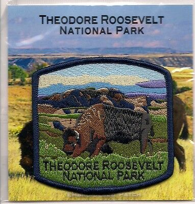 Theodore Roosevelt National Park, North Dakota Souvenir Patch