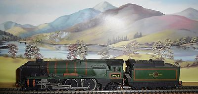 Hornby Dublo 3 Rail West Country Locomotive & Tender Converted To 2 Rail
