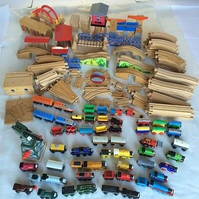 Thomas the Tank Engine wooden trains and track huge job lot