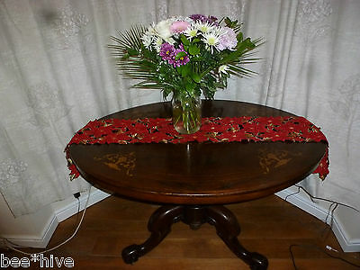 Stuning, Beautiful Antique Victorian  Walnut Oval  Dining Table in VGC
