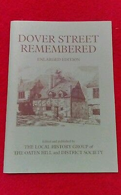DOVER STREET REMEMBERED. BOOKLET. ( Canterbury, Kent.)