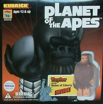 Rare PLANET OF THE APES : Taylor & Statue of Liberty KUBRICK