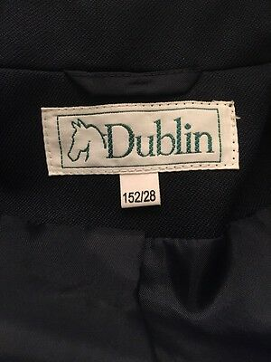 Childs riding jacket Blue, Dublin, Classic