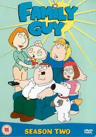 Family Guy - Series 2 - Complete (DVD, 2003, 2-Disc Set)