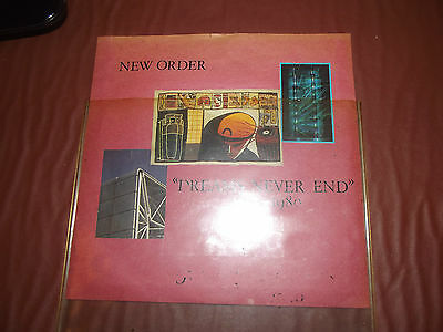 NEW ORDER 7 inch single DREAMS NEVER END 1980 NOJD101