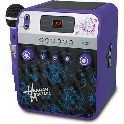 Disney Hannah Montana Video Karaoke Machine Microphone Video Camera