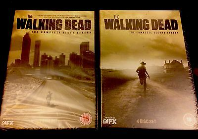 Walking Dead Seasons 1 & 2. New And Sealed.