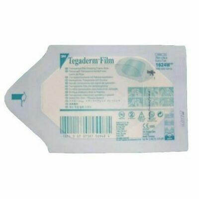 3M Tegaderm 6cm x 7cm Film Dressing Ref. 1624W- Medical & Tattoo