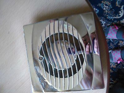 Chrome Plastic Extractor Fan Cover