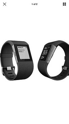 Fitbit Surge Large Black - New & Sealed