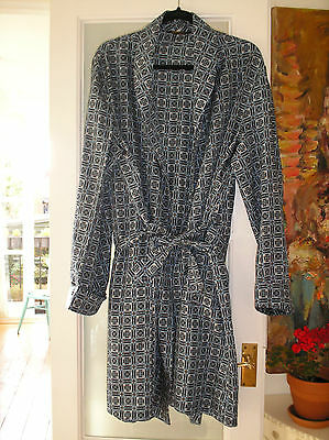 MENS FAB VINTAGE DRESSING GOWN BY SAMMY...C1970s...LARGE