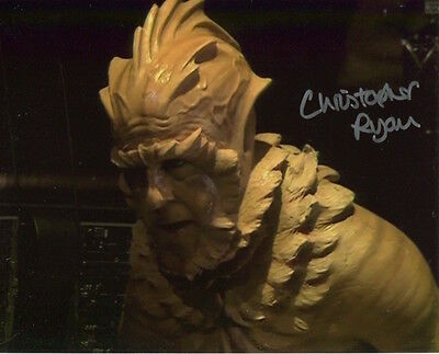 Christopher Ryan Photo Signed In Person - B608 -  Kiv in Doctor Who