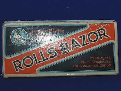 Vintage Rolls Razor whetter Imperial no2 made in England with box