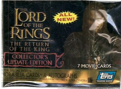 2005 Topps Lord of the Rings Return of the King Update  Card Set (72 cards)
