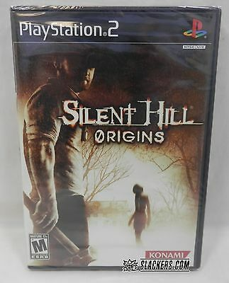 SILENT HILL Origins (Sony PlayStation 2 2008) NEW!! Factory Sealed HORROR PS2
