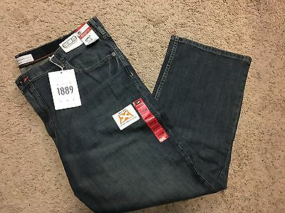 NWT MENS Lee Jeans Big & Tall 46x30 Modern Series Relaxed Straight Leg MSRP $70