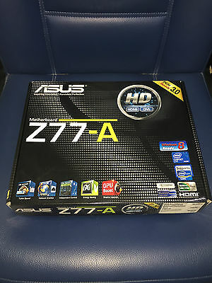 ASUS Z77-A LGA1155 Socket 1155 Intel Motherboard Placa Base Intel® Z77 chipset