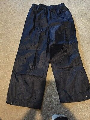 Navy Blue Age 7-8 Port west Rain Trousers