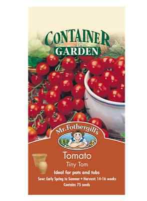 Tomato Tiny Tom by Mr Fothergill / Suitable to grow in pots or containers