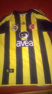 Fenerbahce Turkey Home Shirt Official 05/06 Adidas Size M L/S