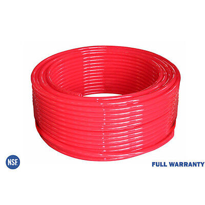 """1"""" x 100Ft PEX Tubing, Heating and Plumbing, Oxygen-Barrier Red"""